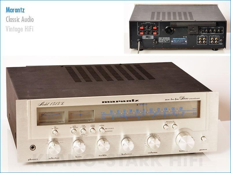 marantz model 1515l stereo receiver gebraucht kaufen bei