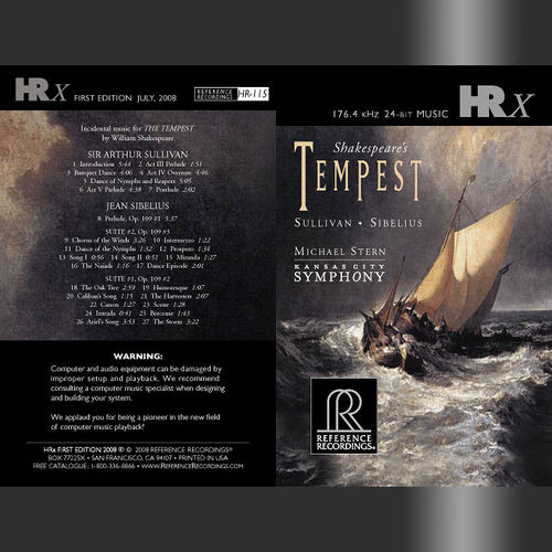 Michael Stern & Kansas City Symphony: Sullivan / Sibelius – The Tempest