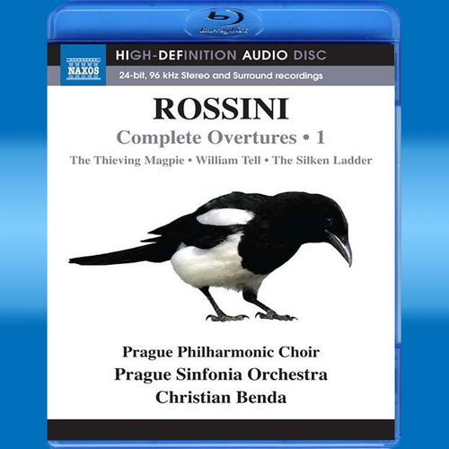 Gioacchino Rossini: Sämtliche Ouvertüren Vol.1 (Blu-ray Audio)