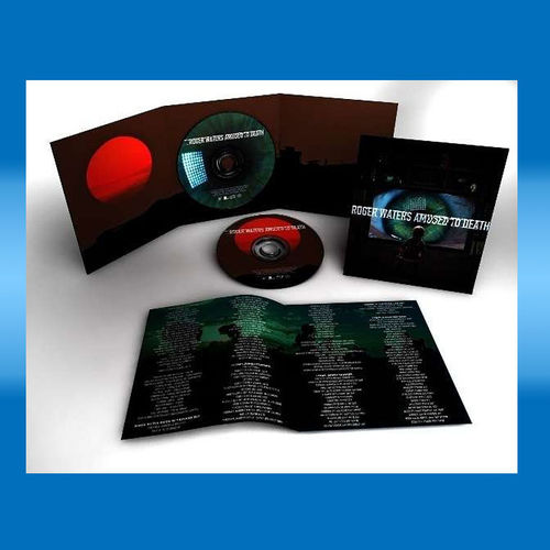 Roger Waters	 Amused To Death (Remastered) (2015 Edition) (CD + Blu-ray Audio)
