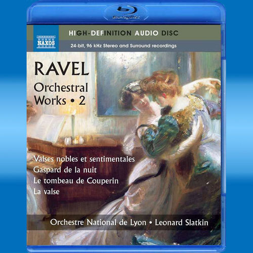 Maurice Ravel: Orchesterwerke Vol.2 (Blu-ray Audio)