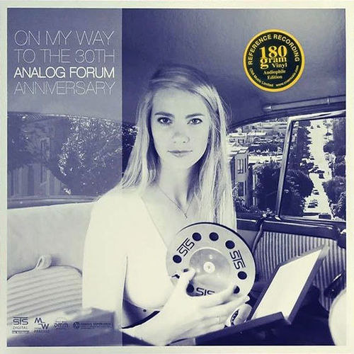 GREETJE KAUFFELD AND BAND  –  ON MY WAY TO THE 30TH ANALOG FORUM ANNIVERSARY
