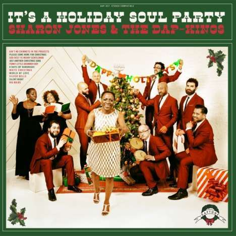 Sharon Jones & The Dap-Kings: It's A Holiday Soul Party! (Limited Edition) (Colored Vinyl)