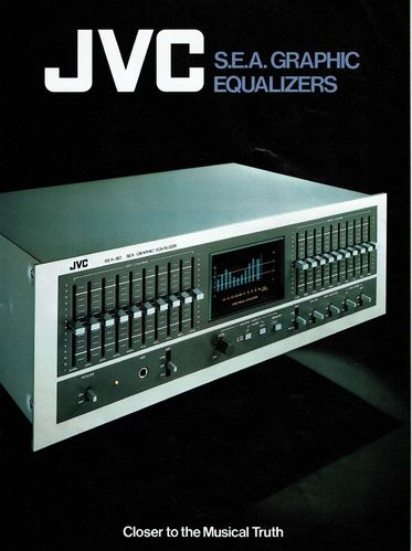 Flyer JVC S.E.A. Graphic Equalizers