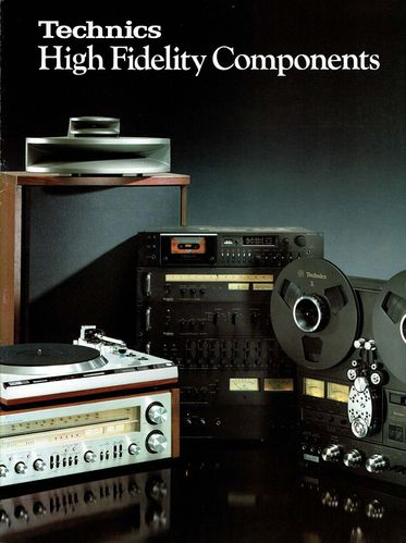 Broschüre Technics High Fidelity Components